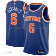 Camisetas Baloncesto Niños New York Knicks 2018 Kristaps Porzingis 6# Icon Edition..