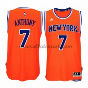 Camisetas NBA Baratas New York Knicks 2015-16 Carmelo Anthony 7# Alternate..