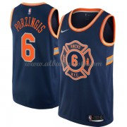 Camisetas Baloncesto NBA New York Knicks 2018  Kristaps Porzingis 6# City Edition..