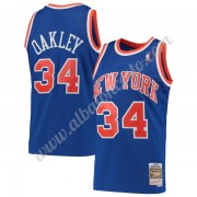 Camisetas Baloncesto NBA New York Knicks 1991-92 Charles Oakley 34# Azul Hardwood Classics Swingman..
