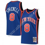 Camisetas Baloncesto NBA New York Knicks 1998-99 Latrell Sprewell 8# Azul Hardwood Classics Swingman..