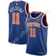 Camisetas Baloncesto NBA New York Knicks 2019-20 Frank Ntilikina 11# Azul Icon Edition Swingman..