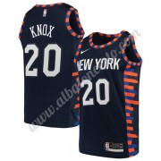Camisetas Baloncesto NBA New York Knicks 2019-20 Kevin Knox 20# Armada City Edition Swingman..