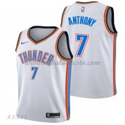 Camisetas Baloncesto Niños Oklahoma City Thunder 2018 Carmelo Anthony 7# Association Edition..