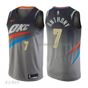 Camisetas Baloncesto Niños Oklahoma City Thunder 2018 Carmelo Anthony 7# City Edition..