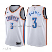 Camisetas Baloncesto Niños Oklahoma City Thunder 2018 Corey Brewer 3# Association Edition..