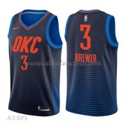 Camisetas Baloncesto Niños Oklahoma City Thunder 2018 Corey Brewer 3# Statement Edition..