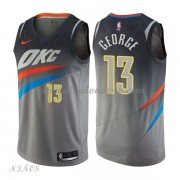 Camisetas Baloncesto Niños Oklahoma City Thunder 2018 Paul George 13# City Edition..