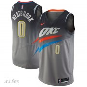 Camisetas Baloncesto Niños Oklahoma City Thunder 2018 Russell Westbrook 0# City Edition..