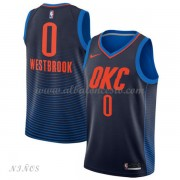 Camisetas Baloncesto Niños Oklahoma City Thunder 2018 Russell Westbrook 0# Statement Edition..