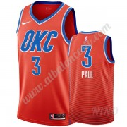 Camisetas NBA Niños Oklahoma City Thunder 2019-20 Chris Paul 3# naranja Statement Edition Swingman..