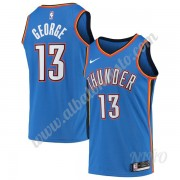 Camisetas NBA Niños Oklahoma City Thunder 2019-20 Paul George 13# Azul Icon Edition Swingman..