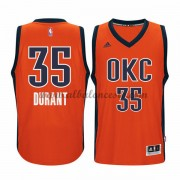 Camisetas Baloncesto NBA Oklahoma City Thunder 2015-16 Kevin Durant 35# naranja Alternate..