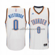 Camisetas Baloncesto NBA Oklahoma City Thunder 2015-16 Russell Westbrook 0# Home