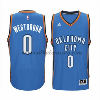Camisetas Baloncesto NBA Oklahoma City Thunder 2015-16 Russell Westbrook 0# Road