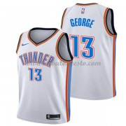 Camisetas Baloncesto NBA Oklahoma City Thunder 2018  Paul George 13# Association Edition..