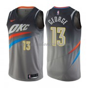 Camisetas Baloncesto NBA Oklahoma City Thunder 2018  Paul George 13# City Edition..