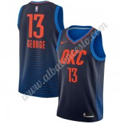 Camisetas Baloncesto NBA Oklahoma City Thunder 2018  Paul George 13# Statement Edition..