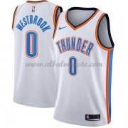 Camisetas Baloncesto NBA Oklahoma City Thunder 2018  Russell Westbrook 0# Association Edition..