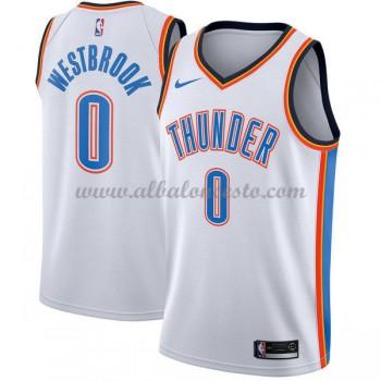 Camisetas Baloncesto NBA Oklahoma City Thunder 2018  Russell Westbrook 0# Association Edition