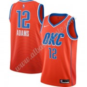 Camisetas Baloncesto NBA Oklahoma City Thunder 2019-20 Steven Adams 12# naranja Finished Statement E..