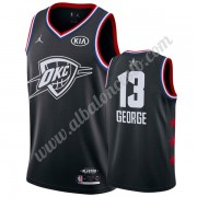 Camisetas NBA Baratas Oklahoma City Thunder 2019 Paul George 13# Negro All Star Game Swingman..