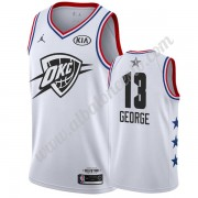 Camisetas NBA Baratas Oklahoma City Thunder 2019 Paul George 13# Blanco All Star Game Swingman..