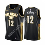 Camisetas Baloncesto NBA Oklahoma City Thunder 2019-20 Steven Adams 12# Negro City Edition Swingman..