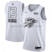 Oklahoma City Thunder Paul George 13# White 2018 All Star Game Swingman Basketball Jersey..