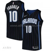 Camisetas Baloncesto Niños Orlando Magic 2018 Evan Fournier 10# Statement Edition..