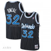 Camisetas Baloncesto Niños Orlando Magic Kids 1994-95 Shaquille O'Neal 32# Black Hardwood Classics..