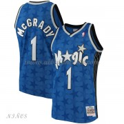 Camisetas Baloncesto Niños Orlando Magic Kids 2001-02 Tracy McGrady 1# Blue Hardwood Classics..