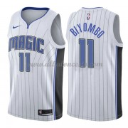 Camisetas Baloncesto NBA Orlando Magic 2018  Bismack Biyombo 11# Association Edition..