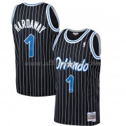 Camisetas Baloncesto NBA Orlando Magic Mens 1994-95 Penny Hardaway 1# Black Hardwood Classics..