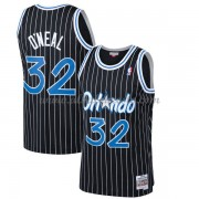 Camisetas Baloncesto NBA Orlando Magic Mens 1994-95 Shaquille O'Neal 32# Black Hardwood Classics..