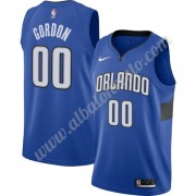 Camisetas Baloncesto NBA Orlando Magic 2019-20 Aaron Gordon 00# Azul Finished Statement Edition Swin..