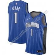 Camisetas Baloncesto NBA Orlando Magic 2019-20 Jonathan Isaac 1# Azul Icon Edition Swingman..