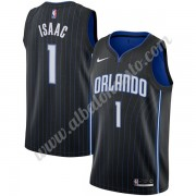 Camisetas Baloncesto NBA Orlando Magic 2019-20 Jonathan Isaac 1# Negro Icon Edition Swingman..