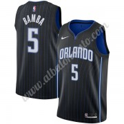 Camisetas Baloncesto NBA Orlando Magic 2019-20 Mohamed Bamba 5# Negro Icon Edition Swingman..