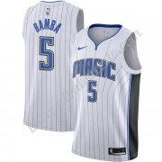 Camisetas Baloncesto NBA Orlando Magic 2019-20 Mohamed Bamba 5# Blanco Association Edition Swingman..