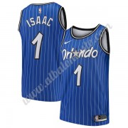 Camisetas Baloncesto NBA Orlando Magic Jonathan Isaac 1# Azul Hardwood Classics Swingman..