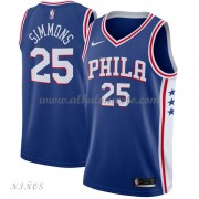 Camisetas Baloncesto Niños Philadelphia 76ers 2018 Ben Simmons 25# Icon Edition..
