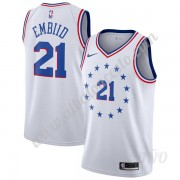 Camisetas NBA Niños Philadelphia 76ers 2019-20 Joel Embiid 21# Earned Edition Swingman..