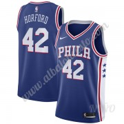 Camisetas NBA Niños Philadelphia 76ers 2019-20 Al Horford 42# Azul Icon Edition Swingman..