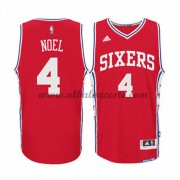 Camisetas Baloncesto NBA Philadelphia 76ers 2015-16 Nerlens Noel 4# Alternate..