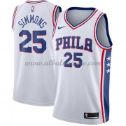 Camisetas Baloncesto NBA Philadelphia 76ers 2018  Ben Simmons 25# Association Edition..