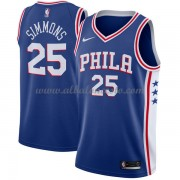 Camisetas Baloncesto NBA Philadelphia 76ers 2018  Ben Simmons 25# Icon Edition..