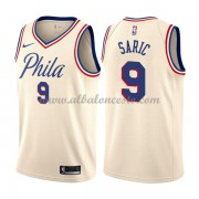 Camisetas Baloncesto NBA Philadelphia 76ers 2018  Dario Saric 9# City Edition..