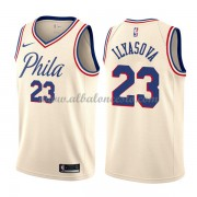 Camisetas Baloncesto NBA Philadelphia 76ers 2018  Ersan Ilyasova 23# City Edition..