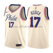Camisetas Baloncesto NBA Philadelphia 76ers 2018  J.J. Redick 17# City Edition..
